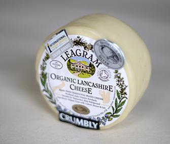 Leagram Organic Crumbly Lancashire