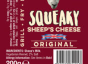 Squeaky Sheep Cheese