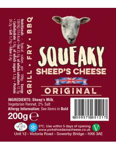 Squeaky Sheep Cheese